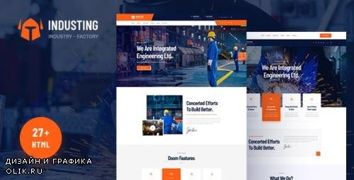 ThemeForest - Industing v1.0 - Industry & Factory Business HTML5 Template - 24058382