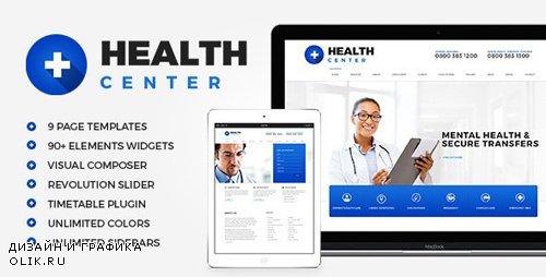 ThemeForest - Health Center v2.1 - Medical WordPress theme - 12279256