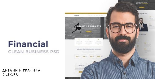 ThemeForest - Financial v1.0 - Clean Business HTML Template - 16994065