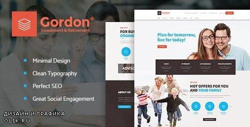 ThemeForest - Gordon v1.1.1 - Investments & Insurance Company WordPress Theme - 19811521