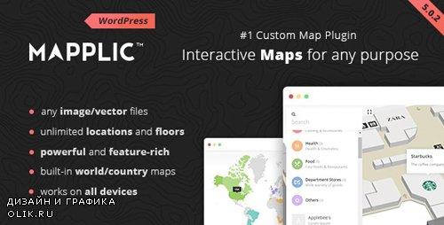 CodeCanyon - Mapplic v5.0.2 - Custom Interactive Map WordPress Plugin - 6800158