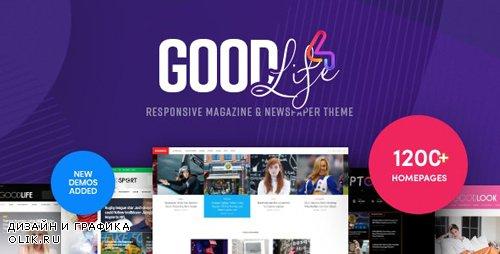 ThemeForest - GoodLife v4.1.6.1 - Magazine & Newspaper WordPress Theme - 13638827 - NULLED