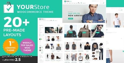 ThemeForest - YourStore v2.5 - Woocommerce theme - 16912793 - NULLED