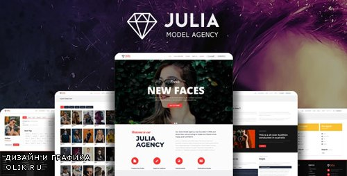 ThemeForest - Julia v1.8.3 - Talent Management WordPress Theme - 13291157