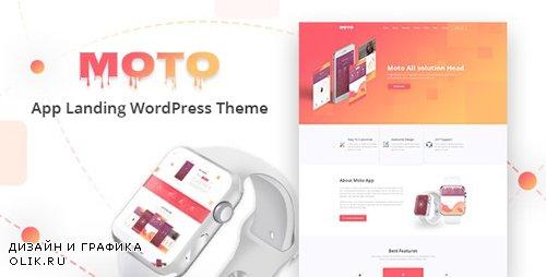 ThemeForest - Moto v1.1.4 - App Landing Page WordPress Theme - 20693250
