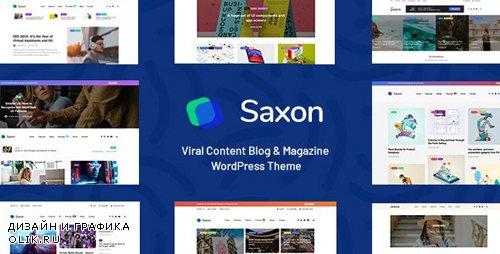 ThemeForest - Saxon v1.7.1 - Viral Content Blog & Magazine Marketing WordPress Theme - 22955117 - NULLED