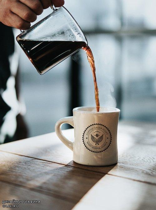 Coffee Mug Logo Mockup, part 4