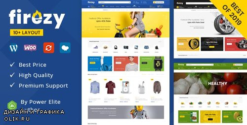 ThemeForest - firezy v1.0.0 - Multipurpose WooCommerce Theme (Update: 3 October 19) - 23484040