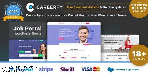 ThemeForest - Careerfy v2.5.4 - Job Board WordPress Theme - 21137053