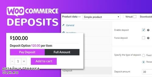 CodeCanyon - WooCommerce Deposits v2.5.6 - Partial Payments Plugin - 9249233