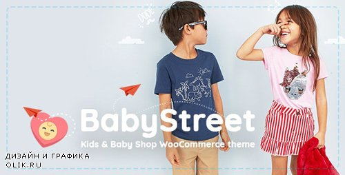 ThemeForest - BabyStreet v1.2.4.2 - WooCommerce Theme for Kids Stores and Baby Shops Clothes and Toys - 23461786