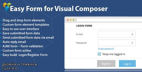 CodeCanyon - DHVC Form v2.2.33 - Wordpress Form for WPBakery Page Builder - 8326593