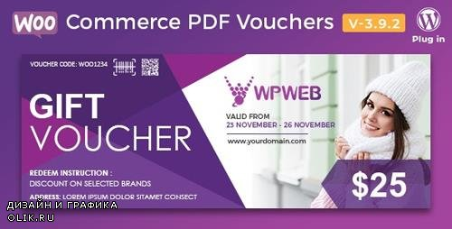 CodeCanyon - WooCommerce PDF Vouchers v3.9.2 - WordPress Plugin - 7392046