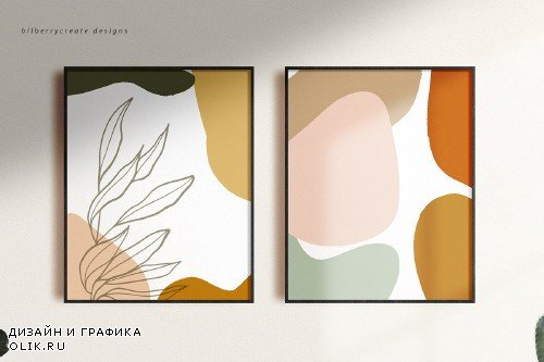 Botanical Abstract collection - 4109954