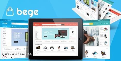 ThemeForest - Bege v1.3.4 - Responsive WooCommerce WordPress Theme - 21667299