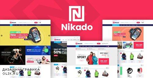 ThemeForest - Nikado v1.1.4 - Responsive Theme for WooCommerce WordPress - 21631731