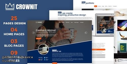 ThemeForest - CrownIT v1.6 - Responsive Multi-Purpose WordPress Theme - 20683715