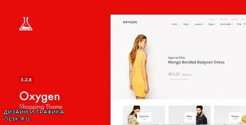 ThemeForest - Oxygen v5.2.8 - WooCommerce WordPress Theme - 7851484
