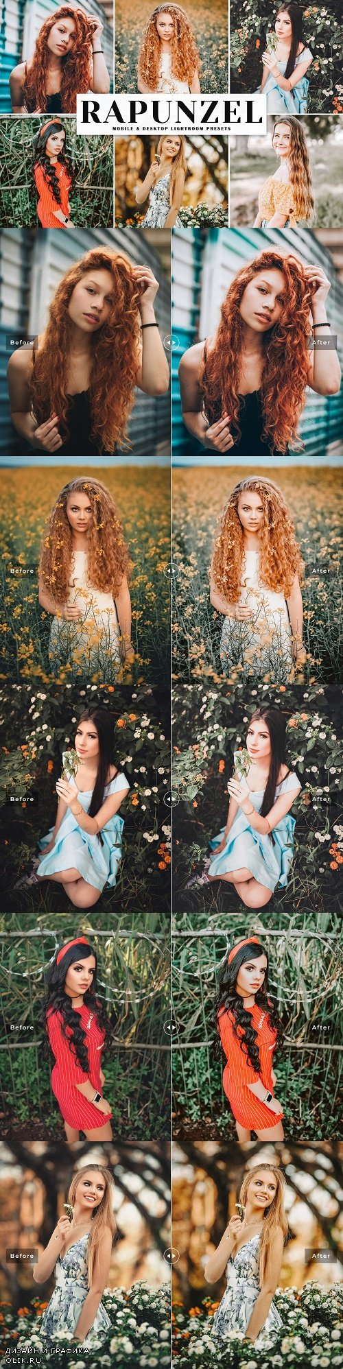 Rapunzel Lightroom Presets Pack - 4195854