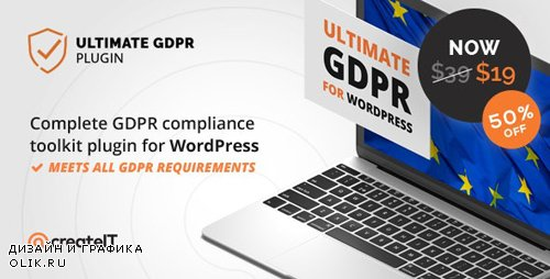 CodeCanyon - Ultimate GDPR v1.7.3 - Compliance Toolkit for WordPress - 21704224