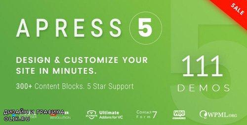 ThemeForest - Apress v5.0.4 - Responsive Multi-Purpose Theme - 20287911