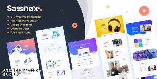 ThemeForest - Sassnex v1.0 - Multi-concept WordPress Theme for App, Saas & Startup - 23787638