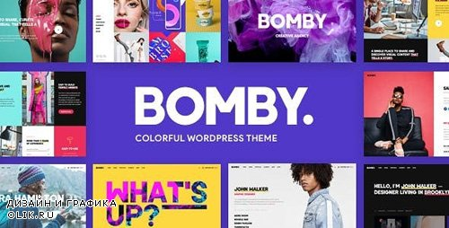 ThemeForest - Bomby v1.4 - Creative Multi-Purpose WordPress Theme - 22286689