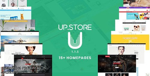 ThemeForest - UpStore v1.1.5 - Responsive Multi-Purpose WordPress Theme - 21983284