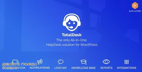 CodeCanyon - TotalDesk v1.6.1 - Helpdesk, Live Chat, Knowledge Base & Ticket System - 20502693