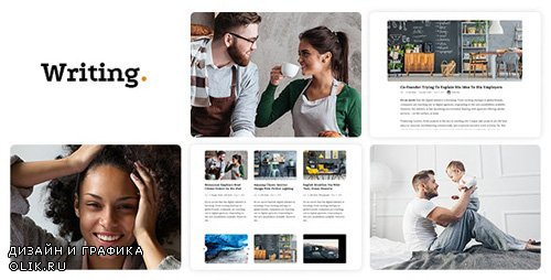 ThemeForest - Writing Blog v3.68 - Personal Blog - 11547928