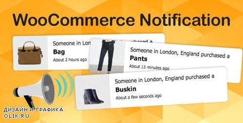 CodeCanyon - WooCommerce Notification v1.4.1 - Boost Your Sales - Live Feed Sales - Recent Sales Popup - Upsells - 16586926