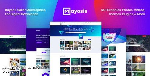 ThemeForest - Mayosis v2.6.2 - Digital Marketplace WordPress Theme - 20210200