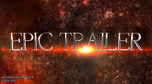Epic Cinematic Trailer 301771 - After Effects Templates