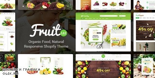 ThemeForest - Fruit Shop v1.0.1 - Organic Food, Natural Responsive Shopify Theme - 21294031