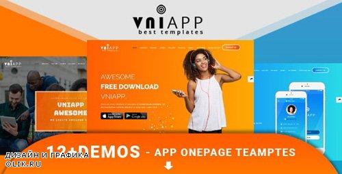 ThemeForest - VniApp v1.0 - Showcase Mobile App HTML Template - 21152000