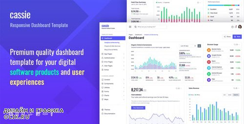 ThemeForest - Cassie v1.0.0 - Responsive Dashboard and Admin HTML5 Template - 24369212