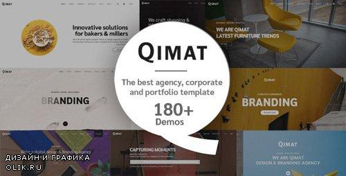 ThemeForest - QIMAT v1.0 - Creative Agency, Corporate and Portfolio Multi-purpose Template - 23523117