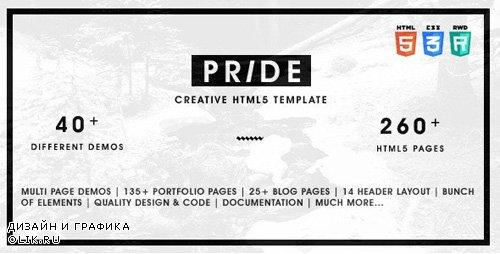 ThemeForest - Pride v1.5.0 - Multipurpose HTML5 Template - 11773144