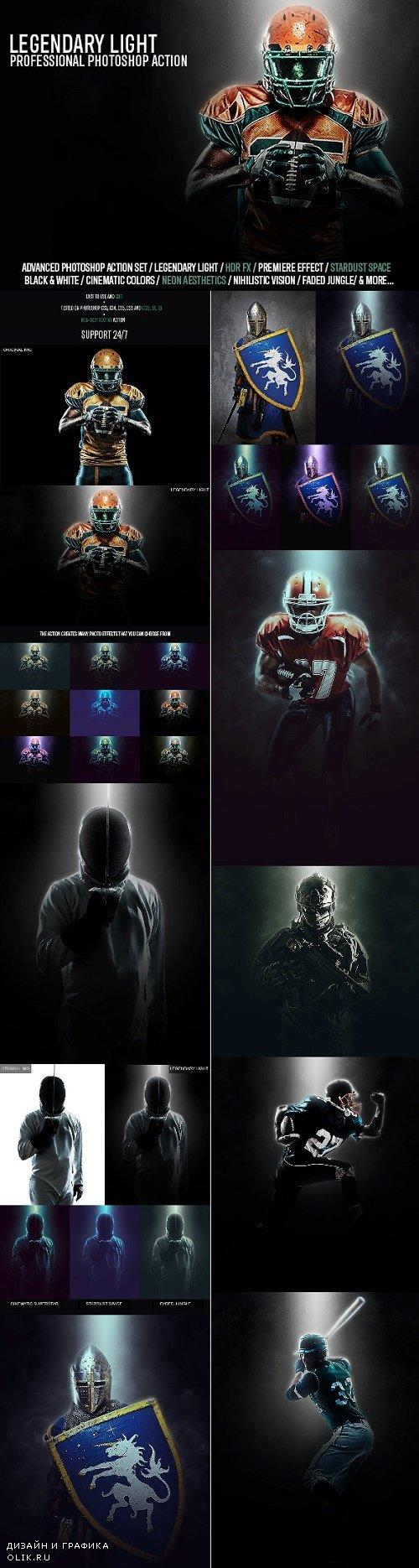 Legendary Light Photoshop Action 24577773