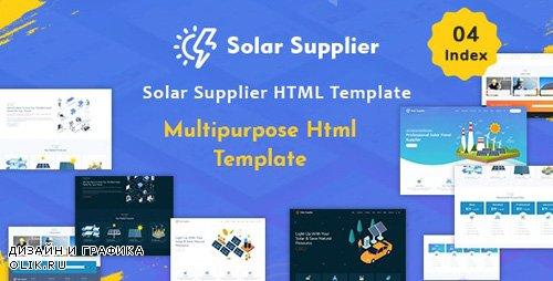 ThemeForest - Solar Supplier v1.0 - Responsive HTML Template - 24473040