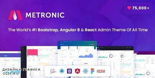 ThemeForest - Metronic v6.1.1 - Bootstrap 4, Angular 8, React Admin Dashboard Theme - 4021469