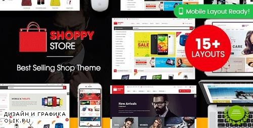 ThemeForest - ShoppyStore v3.3.11 - Multipurpose Responsive WooCommerce WordPress Theme (15+ Homepages & 3 Mobile Layouts) - 13607293 - NULLED