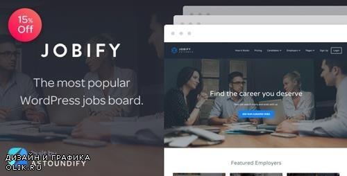 ThemeForest - Jobify v3.12.0 - Job Board WordPress Theme - 5247604