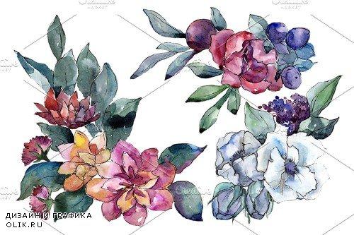 Bouquet of flowers Vienna Waltz - 4008805