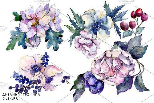 Stylish bouquet of flowers Cleopatra - 4010377