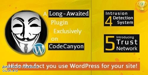 CodeCanyon - Hide My WP v5.6.2 - Amazing Security Plugin for WordPress! - 4177158 - NULLED