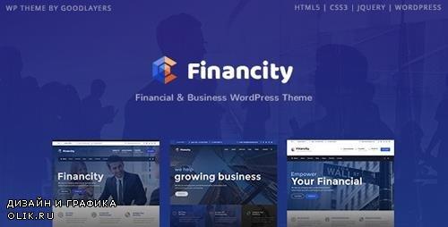 ThemeForest - Financity v1.2.3 - Business / Financial / Finance WordPress - 20757434