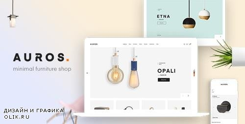 ThemeForest - Auros v1.5.0 - Furniture Elementor WooCommerce Theme - 22873765