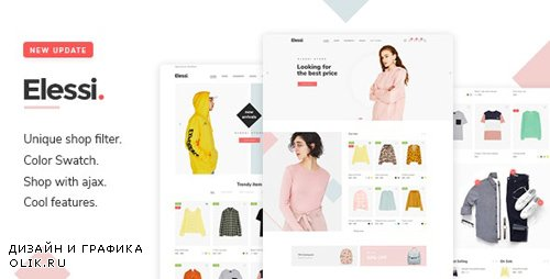 ThemeForest - Elessi v2.2.2 - WooCommerce AJAX WordPress Theme - RTL support - 20968615