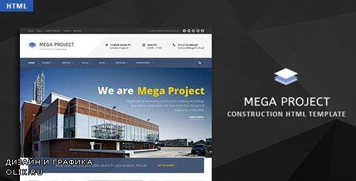 ThemeForest - Mega Project v1.0 - Construction HTML Template - 23901640
